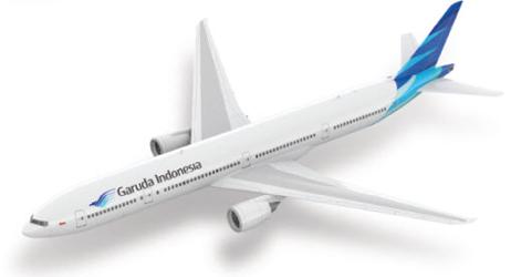 Garuda Airways Langstreckenflug