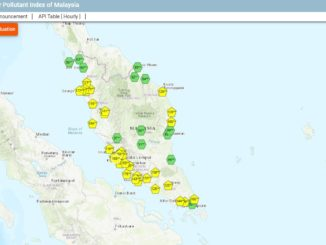 Smog Gebiete Südost Asien