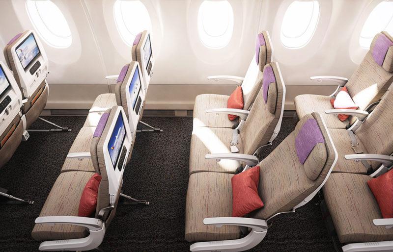 Economy Smartium (Premium) Class Asiana Airlines