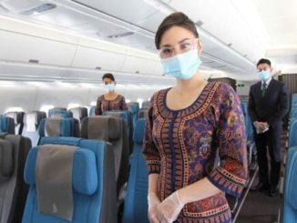 Singapore Airlines Sicherheit & Gesundheit an Bord