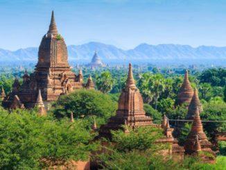 die Pagoden von Bagan