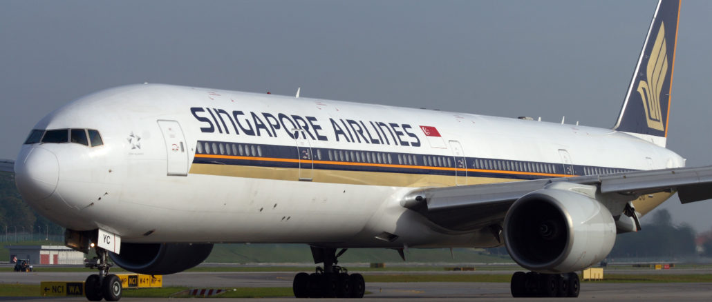 Singapore Airlines B-777